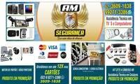 Logo de AM Seguranças -Equipamentos e Sistemas de Seguranças