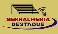 Logo de Portões Eletrônicos, Serralheria Destaque 24 horas
