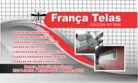 Logo de França Telas Soluções em Telas em Vila Santa Luzia