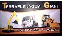 Logo de Terraplenagem Giani