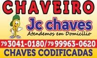 Logo de Jc Chaves - Chaveiro 24 Horas em São Conrado
