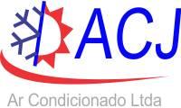 Logo Acj Ar Condicionado em Fazenda Santo Antônio