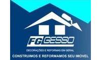 Logo FG Gesso - Decorações e Reformas em Geral