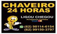 Logo Chaveiro 24 Horas 62 981146154 ligou chegou