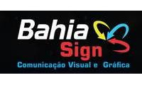 Logo Bahia Sign Toldos e Coberturas em Buraquinho