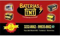 Logo de Baterias TNT em Fortaleza