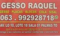 Logo de Gesso Raquel - Serviços e Distribuição em Palmas,TO em Plano Diretor Norte