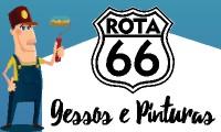 Logo de ROTA 66 GESSOS E PINTURAS em Jardim Novo Mundo