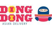 Logo Ding Dong Asian Delivery em Setor Marista