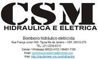 Logo Csm Hidraulica e Eletricidade em Andaraí