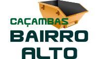 Logo Caçambas Bairro Alto