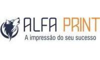 Logo Alfa Print Salvador em Caminho das Árvores