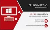 Logo de Help Pc Informática em Badu