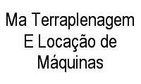 Logo Ma Terraplenagem E Locação de Máquinas em Vila Redenção