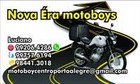 Logo de Nova era motoboys Porto alegre em Auxiliadora