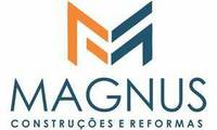Logo Magnus Construções em Betânia