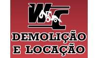 Logo WC Demolição e Locação